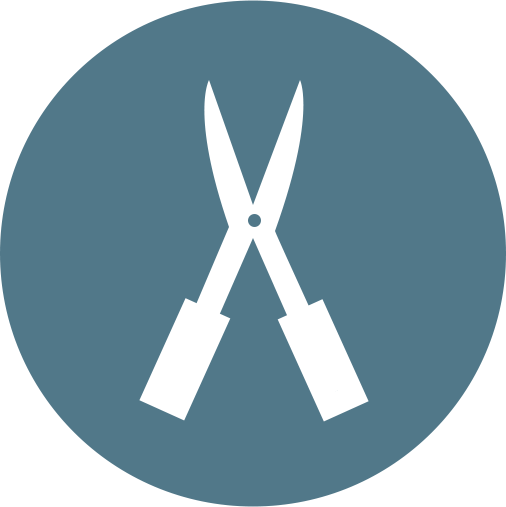 landscape shears icon
